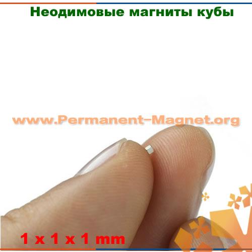 спеченный магнит неодимия куб