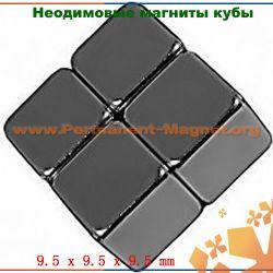 редкоземельные неодимовые магниты  куб
